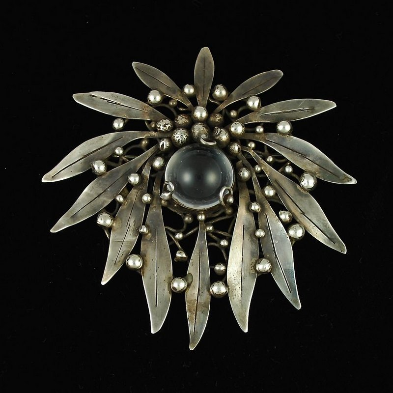mary gage sterling brooch