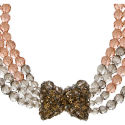 Vintage Coppola e Toppo Italian Crystal Necklace