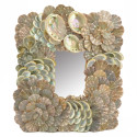Baby Abalone And Scallop Sea Shell Mirror