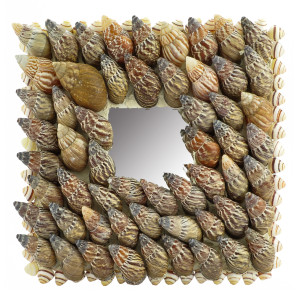 Japanese Snail Sea Shell Mirror