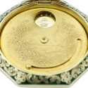 Antique Austrian Guilloché Enamel Sterling Compact