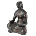 Manuel Felguerez Sculpture Sitting Woman Terracotta