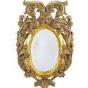 Antique Italian Giltwood Tabletop Mirror 20″