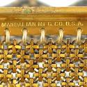 Art Deco Mandalian Mesh Flapper Purse