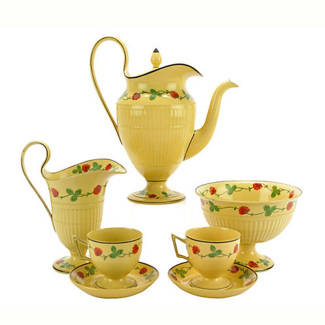Antique Wedgwood Tea Set, Service for 2