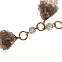 Vintage Coppola e Toppo Italian Crystal Necklace