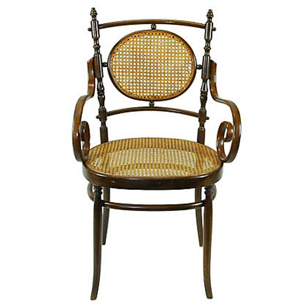 Antique Italian Bentwood Chairs, Pair Antique Italian Bentwood Chairs, ... - Antique Italian Bentwood Chairs, Pair Hacienda