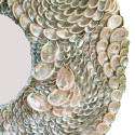 Silver Abalone Sea Shell Mirror