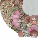 Princess Pink Sea Shell Mirror
