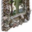 American Artist Abalone Sea Shell Mirror, 25″ x 29″